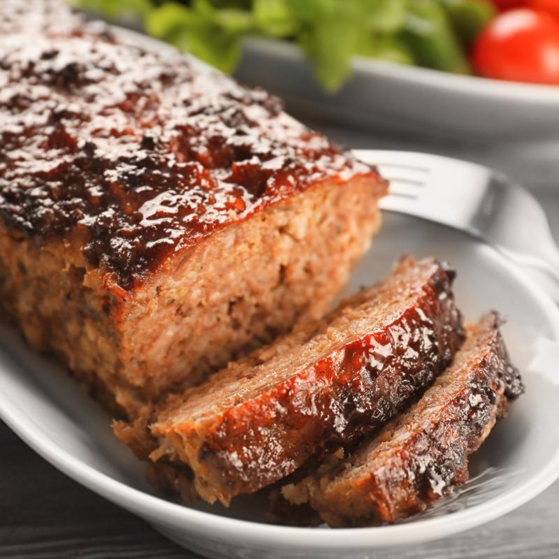 home delivered menu meatloaf