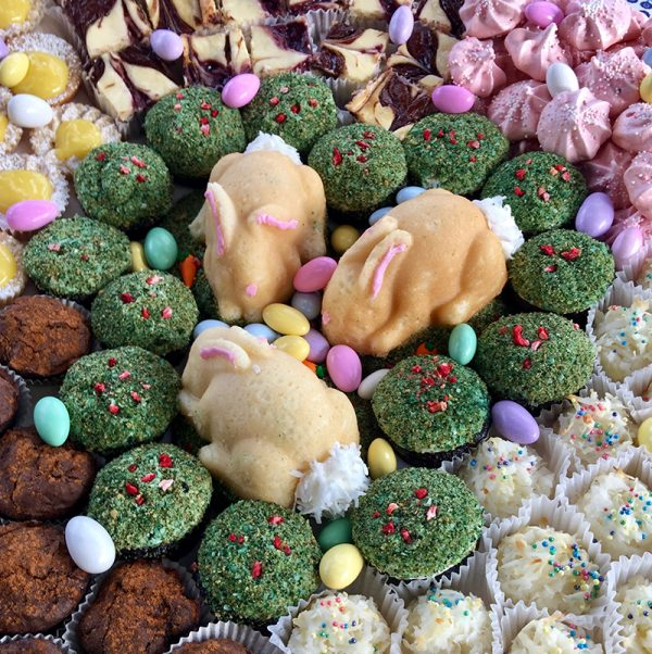 Easter little bunny cakes