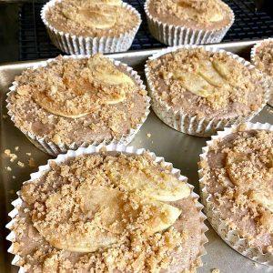 apple cider cakes